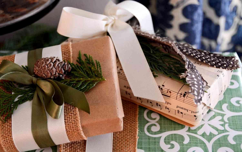 [Упаковка новогодних подарков для детей своими руками
