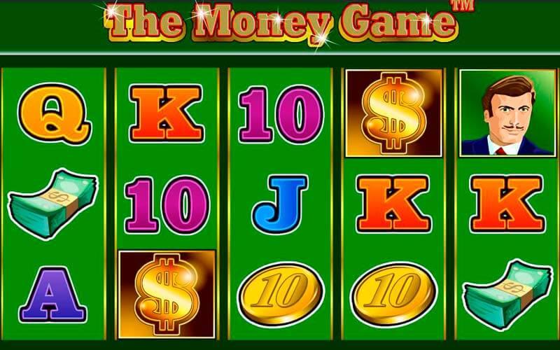 Игровой аппарат онлайн The Money Game в казино Миллион